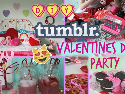 ❤DIY Tumblr Inspired Valentine's Day Party!❤