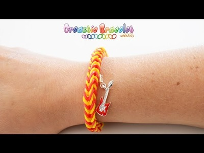 DIY Tutorial - Fishtail CREASTIC BRACELET loom