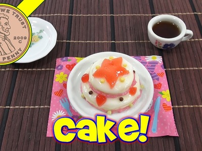 Double Layer Cake DIY Japanese Kit -  Kracie Happy Kitchen Popin' Cookin'