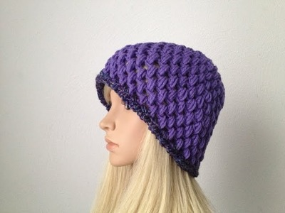 How to Crochet a Beanie Hat P#2 by ThePatterfamily