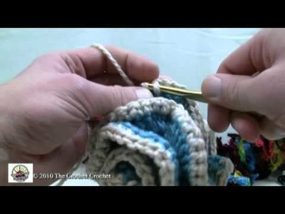 How To Crochet Boa Scarf Part 2 of 2