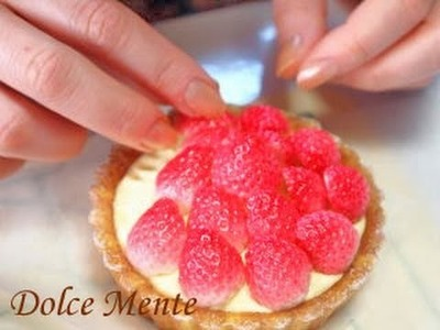 How to make clay tart.