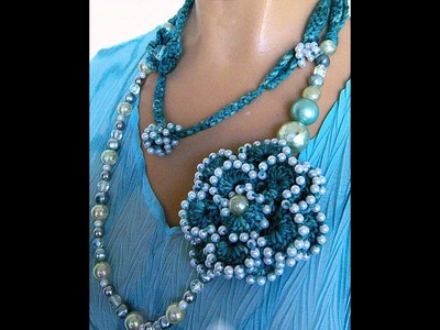 How to make Crochet Jewelry Patterns on www.jewlzs.etsy.com