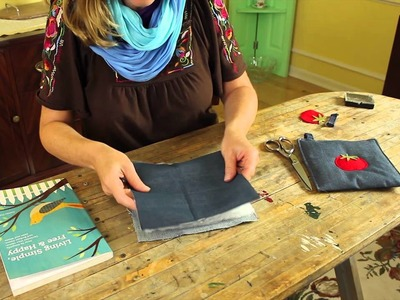 How to Reuse Ripped Pants : Recycled Crafts