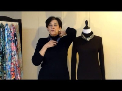 How to Tie a Scarf 4: Small Square Scarves