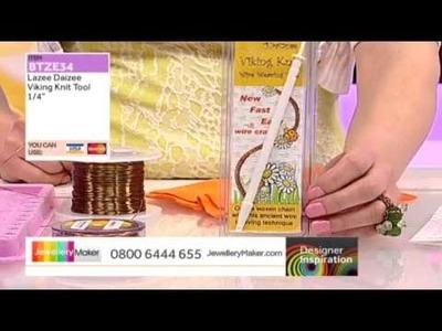 [How to Viking Knit] - JewelleryMaker DI 27.4.14