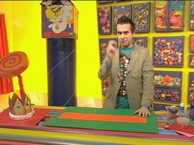 Mister Maker: How to Make a Crown!
