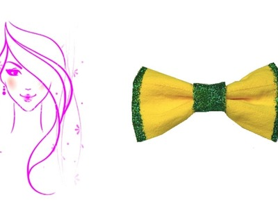 MORENA DIY: HOW TO MAKE A BOW TIE PROJECT