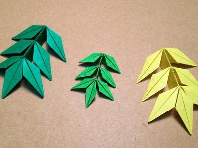 Origami Flower. Marigold  Leaf Instructions.  (Toshikazu Kawasaki)