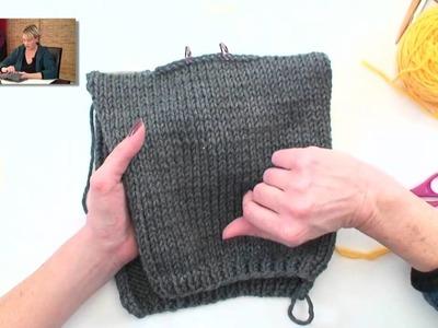 Quick Knit Hoodie - Part 4