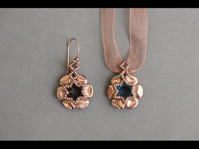 Rose Petals Earrings by Sidonia's handmade jewelry