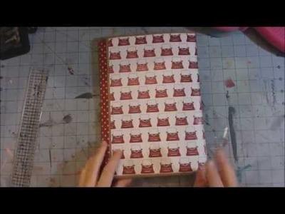Scrapbook Folio style 2 - tutorial