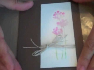 """Simple Scrapbooking Video"" Sympathy card from @lainehmann of Layoutaday.com"