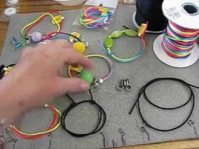 Simple sliding knot for bracelets & anklets