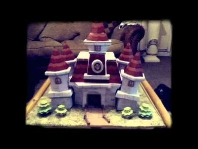 Super Mario 64 Castle Papercraft