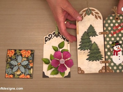 Tags & More steel cutting dies by Elizabeth Craft Designs