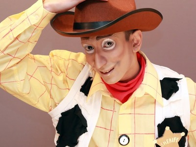 Toy Story Woody Makeup & Costume DIY