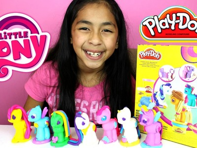 Tuesday Play Doh My Litte Pony Make N' Style Ponies  |B2cutecupcakes