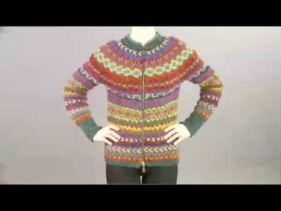 #20 Fair Isle Cardigan, Vogue Knitting Winter 2008.09