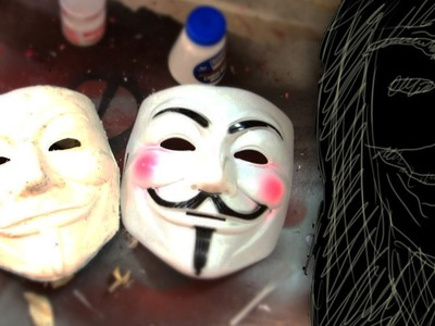 #8: Copy A Mask With Paper Mache DIY