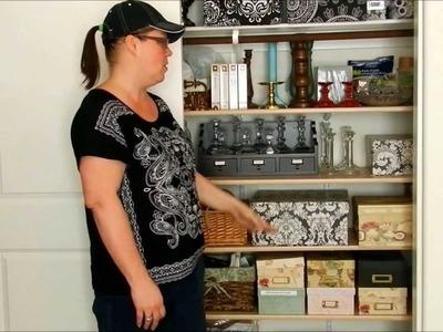 Amazing Craft Room - (Part 1) Getting Organized