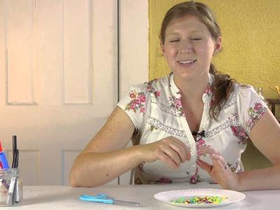 Bead Friendship Bracelet Lesson for Preschoolers : Crafts for Kids