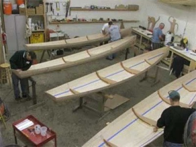 Building Annapolis Wherries at Chesapeake Light Craft: Stitch and Glue Boatbuilding