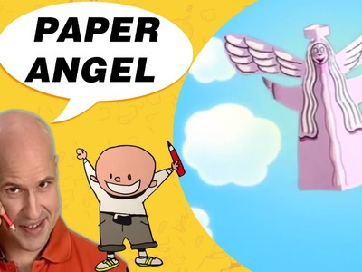 Crafts Ideas for Kids - Paper Angel | DIY on BoxYourSelf