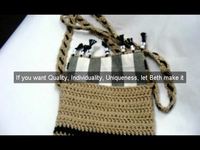 Crochet Bags and Purses - Stitches By Beth
