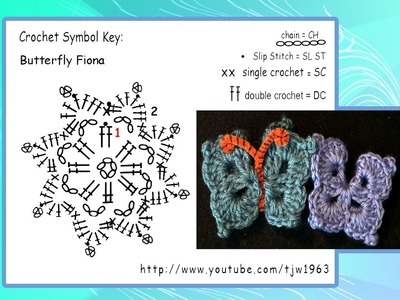 Crochet Butterfly Crochet Geek