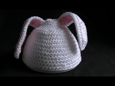 Crochet Easter Bunny Beanie Part 2 of 5