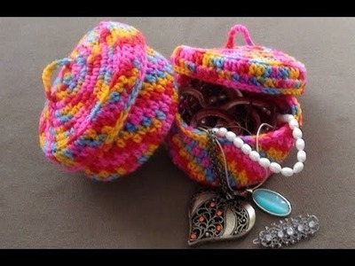 Crochet Jewelry Bowl Part 1 continued by Crochet Hooks You
