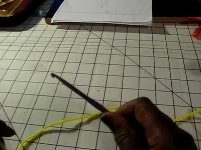 Crocheting a Bikini top pt1 of 4