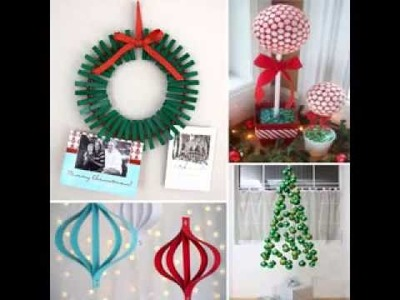 [ Decoration Ideas ] Kids christmas craft decorations