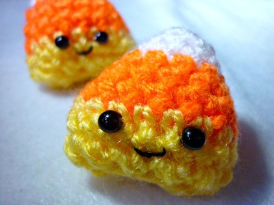 DIY Cute Crochet Candy Corn ¦ The Corner of Craft
