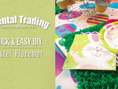 DIY Easter Placemat