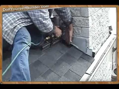 DIY- How To Roof A House- Section 4 of 6  Installing Flashing
