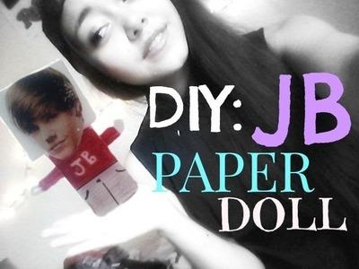 DIY: JB Paper Doll☺April Bieber