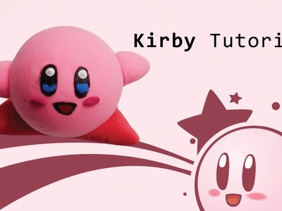 DIY Kirby Air Dry Clay Tutorial