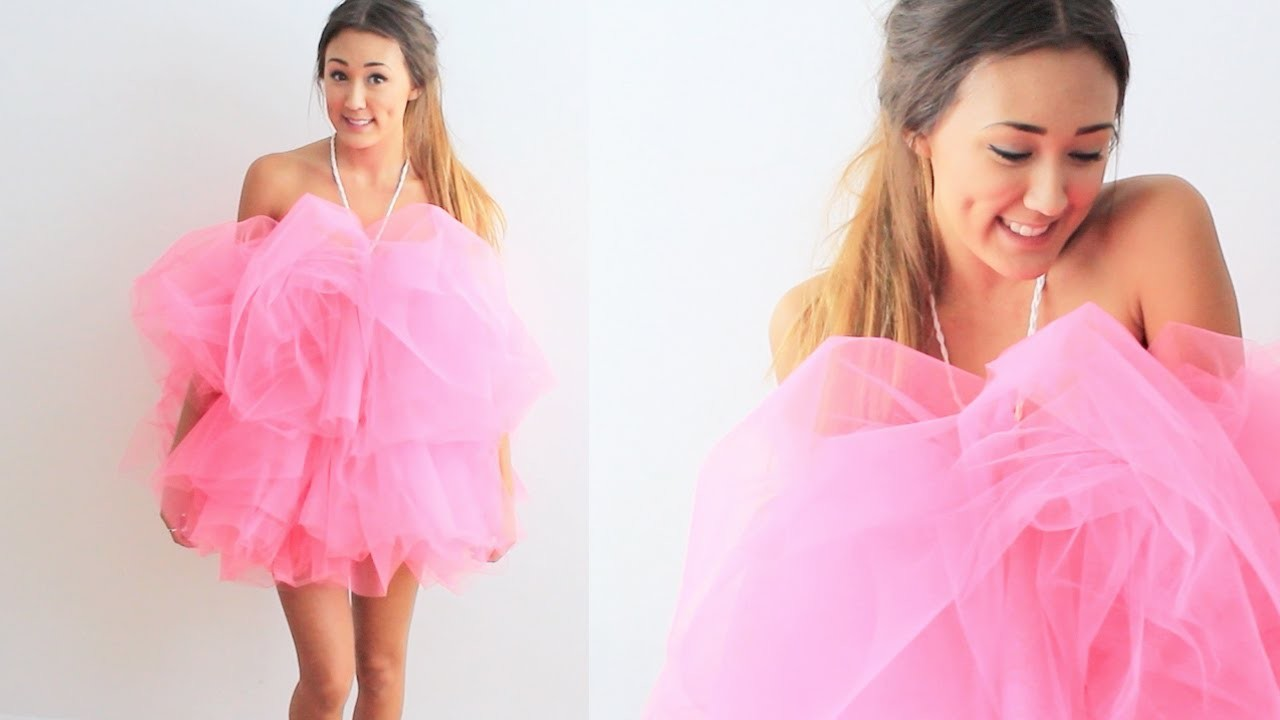 DIY Loofah Halloween Costume | LaurDIY
