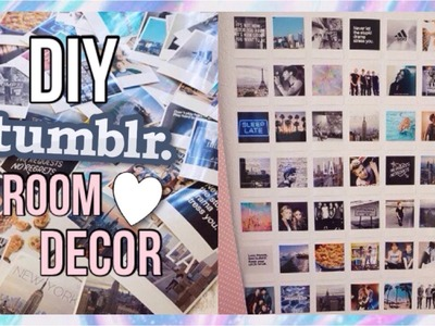 DIY tumblr room decor!