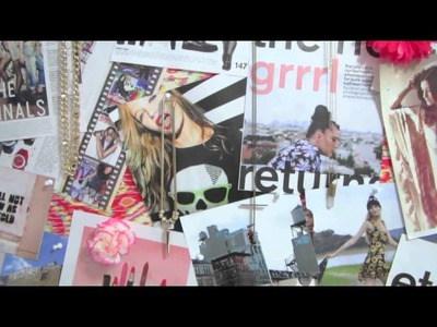 Dorm Room Tour and DIY Room Decor Ideas by LaurDIY