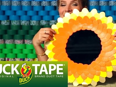 Duck Tape Crafts: How to Make a Decorative Mirror with Mr.Kate