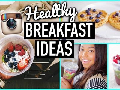 Easy & Healthy Breakfast Ideas for School!