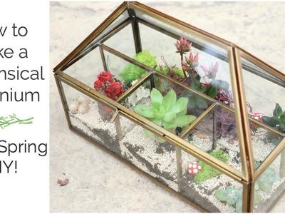 Easy Terrarium Spring DIY