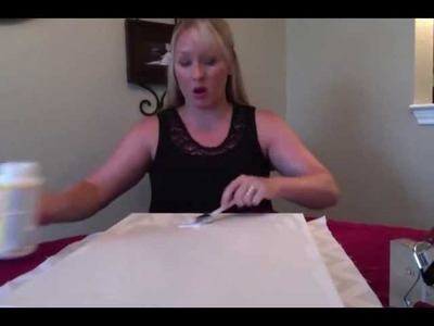 Fabric on Canvas Tutorial: DIY YOUR DORM