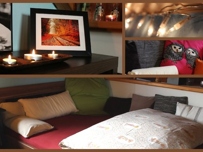 Falling For Autumn: Room Transformation + DIY Decor Ideas!!