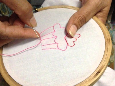 Hand Embroidery: Back Stitch