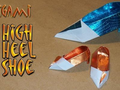 High Heel Origami Shoe by Rachel Katz