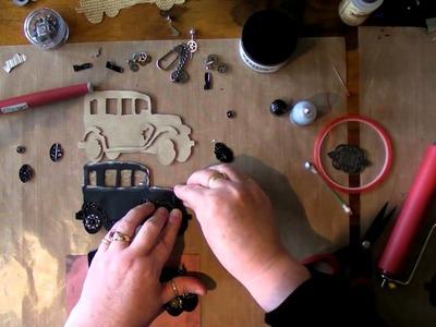 How I Make Tim Holtz Old Jalopy